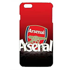 Arsenal Football Club Logo Phone Case 3D Hard Plastic Csae Cover For Iphone 6 Plus/6S Plus