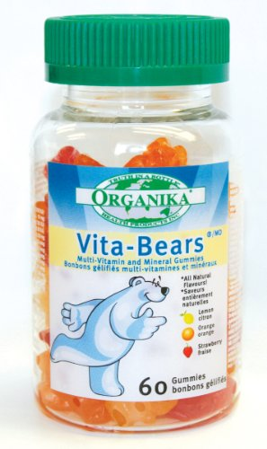 Organika Vita-Bears Multivitamin, 60 Gummies