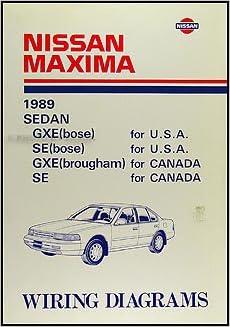 1989 nissan maxima wiring diagram manual original: nissan: amazon com: books