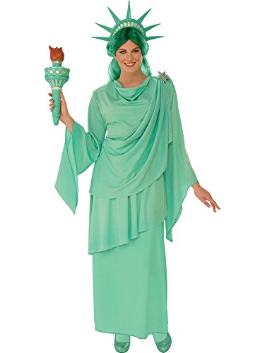 Rubie's Women's Classic Lady Liberty Costume, Green, Medium ()