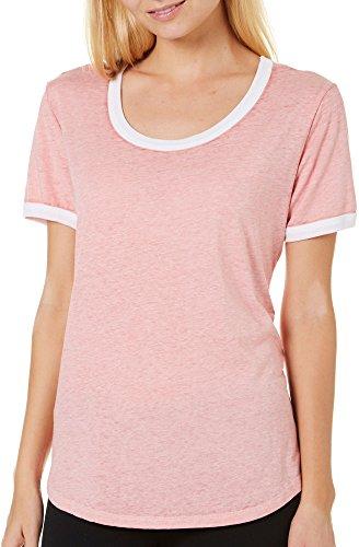 Juniors Burnout T-Shirt - 2