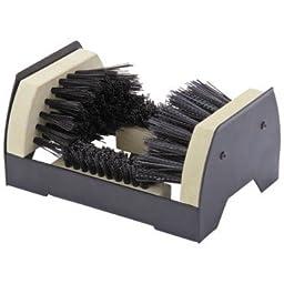 Floor Mount Boot and Shoe Brush