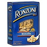 Ronzoni Rotelle Enriched Macaroni Non GMO 16 Oz. Pack Of 3.