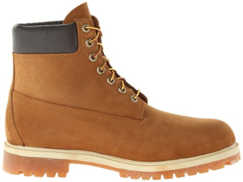 Brown premium boot Orange 6in Timberland Rust homme Boots qX155Oxw
