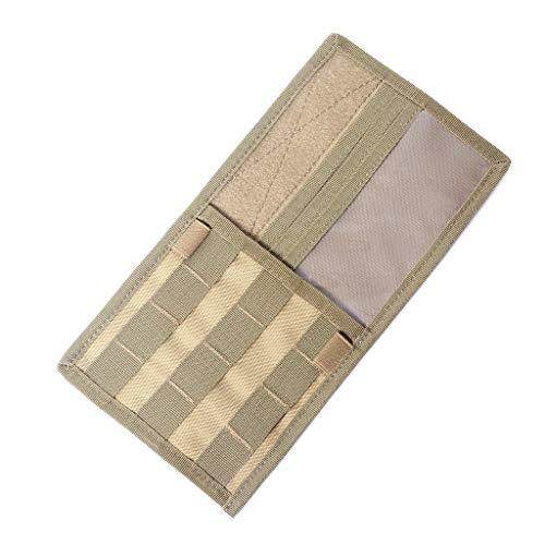 ruizhixuan Car Sun Visor Molle Pannel Organizer Card Storage Bag Accessory Holder Pouch -