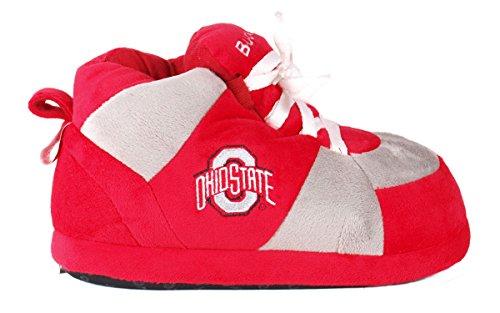 Vrolijke Voeten Heren En Dames Officieel Gelicentieerde Ncaa College Sneaker Slippers Ohio State Buckeyes
