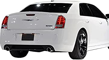 Trunk Spoiler Fits 2011 2018 Chrysler 300 Oe Style Unpainted Abs Car Exterior Trunk Spoiler Rear Wing Tail Roof Top Lid By Ikon Motorsports 2012