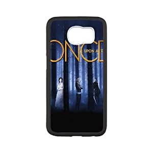 Ac65 Once Upon A Time Drama Poster plastic funda Samsung Galaxy S6 cell phone case funda black cell phone case funda cover ALILIZHIA11538
