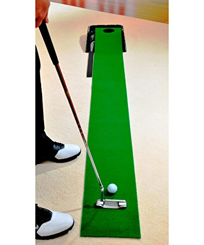 Indoor Golf Practice With Automatic Return Putting System Christmas Gift