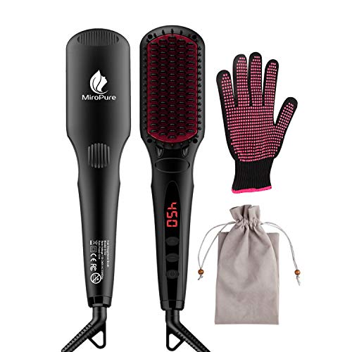 Enhanced Hair Straightener Brush by...