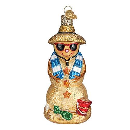 Old World Christmas Sand Snowman ()