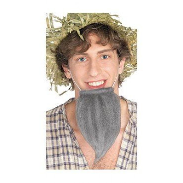 Rubie's Costume Co Farmer's Beard Costume, Grey, Grey