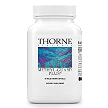 Thorne Research - Methyl-Guard Plus - Methylation Support Supplement with 5-MTHF (folate), B2, B6, and B12 - 90 Vegetarian Capsules
