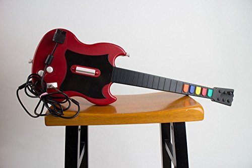 Red octane Guitar for PlayStation 2