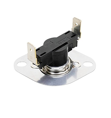 Flush Mount Thermostat (EXP3204267 Frigidaire, Kenmore, GE Dryer Thermostat L260 Flush Mount Replaces 3204267, PS446428, AP2131477, AP2042802, PS268202, WE4X757)