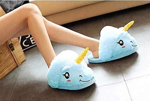 Monbae taille Ehenz®tm Adultes Pyjama 39cm Licorne Unique Bleu 28cm Taille 22cm Adult Et Sac Pantoufles 28cm Enfants OdHqd