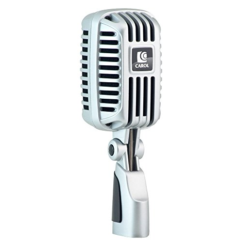 Carol Professional Super-Cardioid Retro Vintage Microphone - The Classic Elvis Microphone | by CLM-101