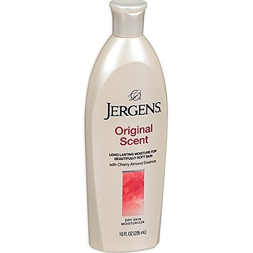 Jergens Original Scent Dry Skin Moisturizer with Cherry Almond Essence 10 oz Body Lotion Cherry Almond