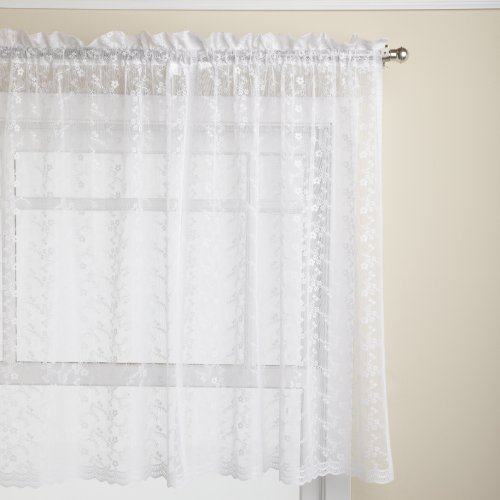 Lorraine Home Fashions Priscilla 60-inch - Lace Kitchen Curtains Shopping Results