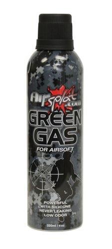 AirSplat 320ml HFC 22 Airsoft Green Gas