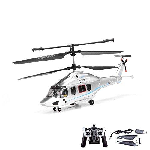 3.5 Kanal RC ferngesteuerter Hubschrauber-Modell, 2.4GHz und Gyro-Technik, Heli-Modellbau, Ready-to-Fly inkl. Crash-Kit