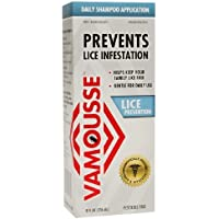 Vamousse Lice Prevention Daily Shampoo Application 8 fl oz (237 ml)