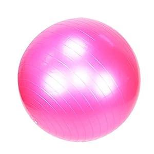 Partiss Fitness Yoga Redondo Gymnastikball Pilatesball Sitzball Roll (Pink,...