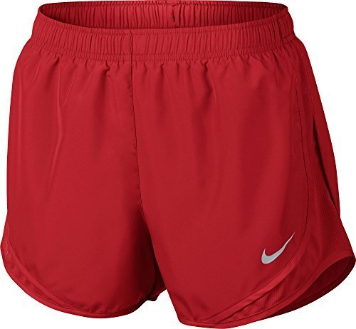 Nike Womens Dry Tempo Short Team Red/White/Black/Wolf Grey (Red Ladies Tempo Shorts)