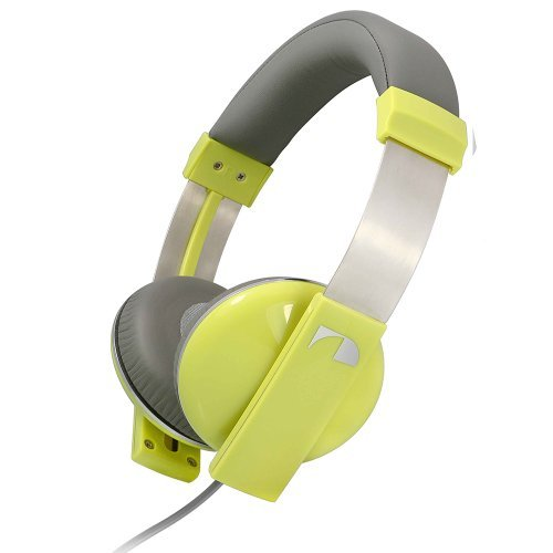 Nakamichi Amplified Stereo Headphones NK2000 Yellow, Best Gadgets
