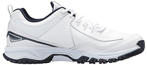Reebok Mens Ridgerider Sneaker In Pelle Bianco / Coll. Marina Militare