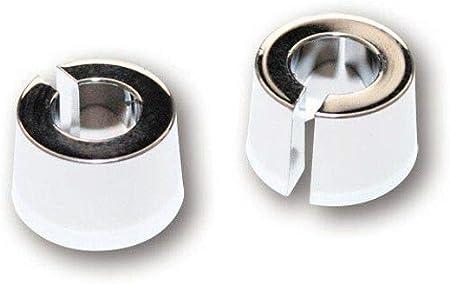 Highsider Motorrad Blinker E Geprüft Verlängerung 10 Mm Paar Für M8 Blinker Chrom Unisex Multipurpose Ganzjährig Aluminium Auto