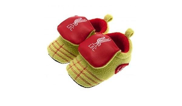 Nuevo de Liverpool FC Club De Fútbol Botas de neón cuna zapatos de bebé 6 - 9 meses: Amazon.es: Bebé