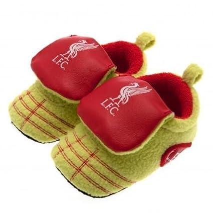 Nuevo de Liverpool FC Club De Fútbol Botas de neón cuna zapatos de bebé 3 –