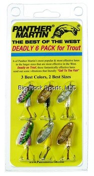 Panther Martin Best of The West Spinner Fishing Lure Kit from Panther Martin [Drop Ship]