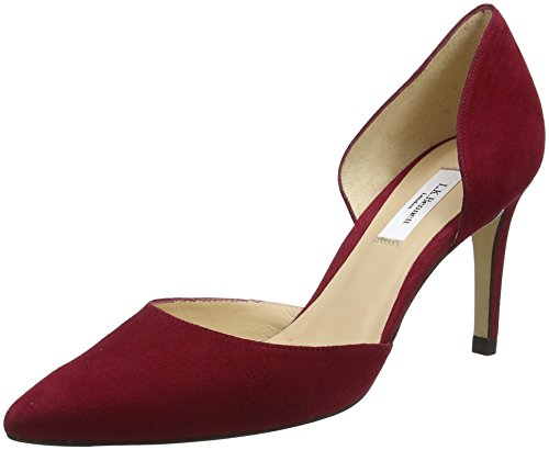 BENNETT Red Flossie Scarpe Tacco Rosso con Donna poppy LK qBT0RdAq