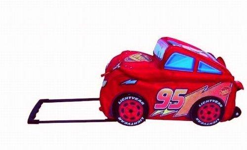 großer Disney Cars 3D Auto TROLLEY TROLLY KOFFER TASCHE