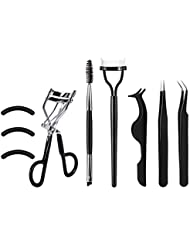 [Gift Box]SOMIER Eyelash Curler Tools Set, 7 in 1 Eyelash...