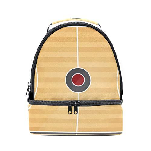 para con doble ajustable hombro Bolso baloncesto correa picnic de vista almuerzo para superior y de el 4qYFR6
