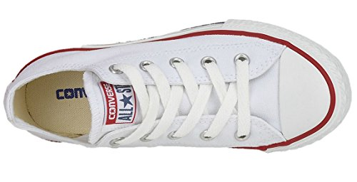 Lea White optical Core Chuck Baskets Adulte Mixte Star All Taylor Converse Ox Mode Bianco w4CXqC