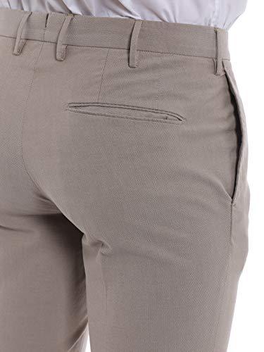 En Pantalon Beige Man Incotex Coton 1gwt459223r405 UnYzq6x