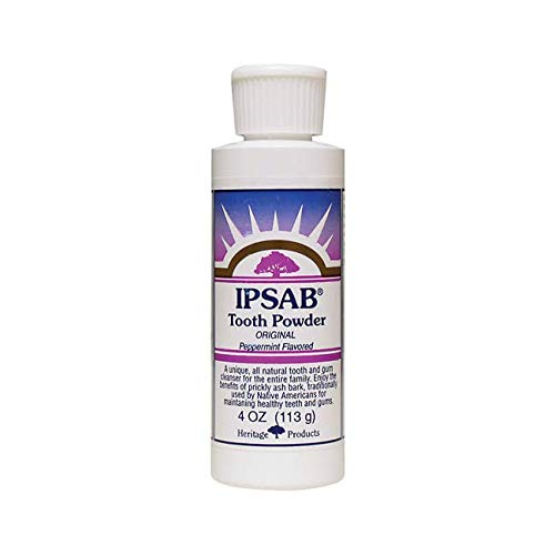 (Heritage Products Ipsab Tooth Powder Peppermint -- 4 oz)