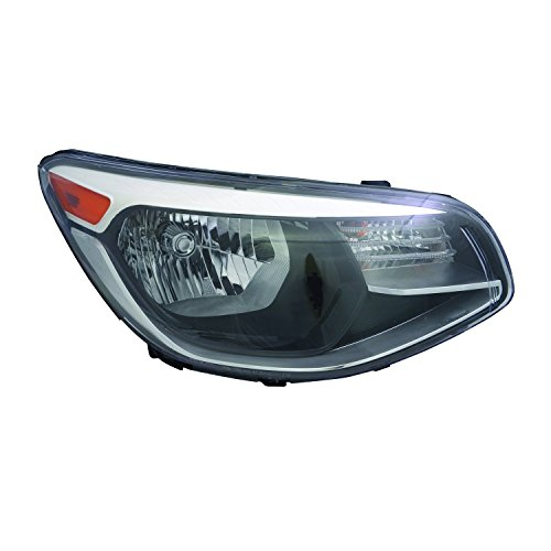 (TYC 20-9515-00-1 Kia Soul Right Replacement Head Lamp)
