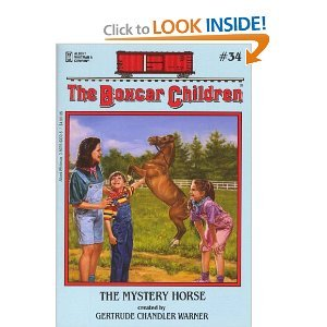 The Mystery Horse (Boxcar Children Mysteries) 059046308X Book Cover