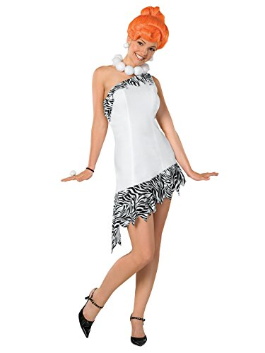 The Flintstones Wilma Costume,White, X-Small -