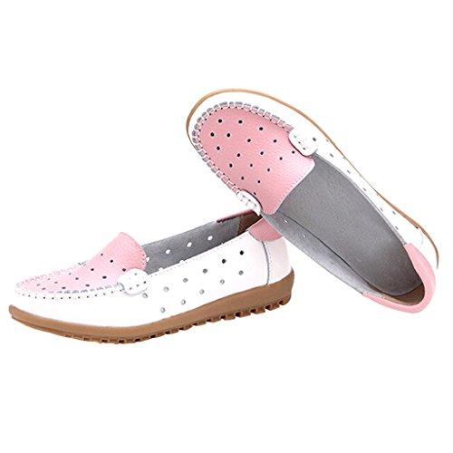 Lieve Tijd Vrouwen Holt Platte Schoenen Roze