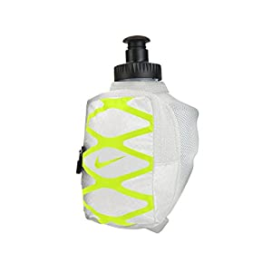 Nike Storm 6oz. Hand Held Water Bottle (Silver/Volt)