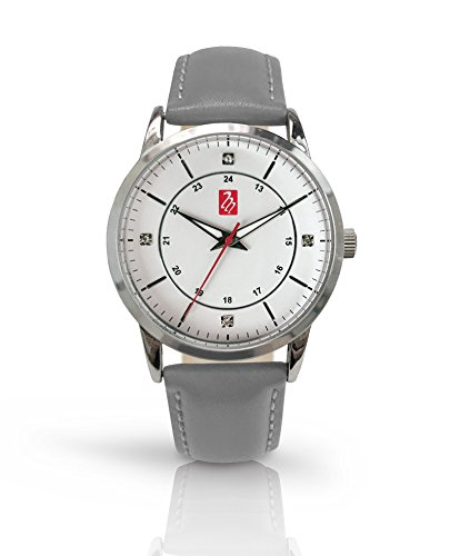 Prestige Medical Bel Air Premium Watch, Silver with Grey Band
