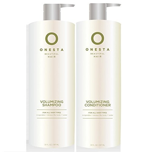 Onesta Volumizing Shampoo 31 Oz + Volumizing Conditioner ...