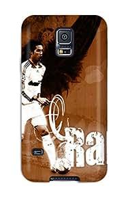 Galaxy S5 Sergio Ramos Print High Quality Tpu Gel Frame Case Cover