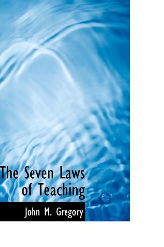 Download The Seven Laws of Teaching pdf